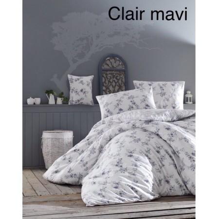 Altinbasak евро с простынью на резинке Clair mavi