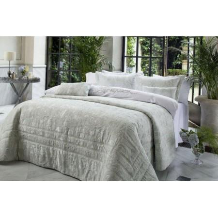 Изысканное покрывало с наволочками и подушками Pepper Home, 270*260 см, Emma bej