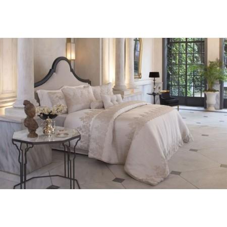 Изысканное покрывало с наволочками и подушками Pepper Home, 270*260 см, Linzy gold