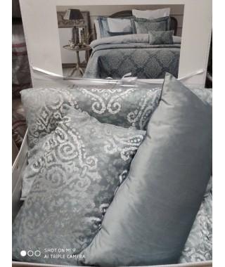 Изысканное покрывало с наволочками и подушками Pepper Home, 270*260 см, Athena mavi