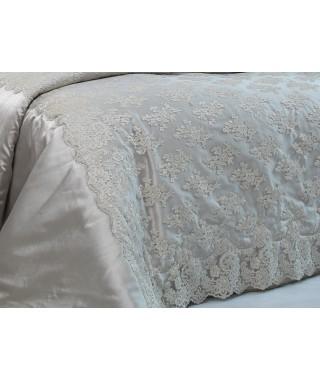 Изысканное покрывало с наволочками и подушками Pepper Home, 270*260 см, Belaris TAS gold