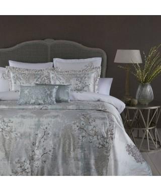 Изысканное покрывало с наволочками и подушками Pepper Home, 270*260 см, Mia gri