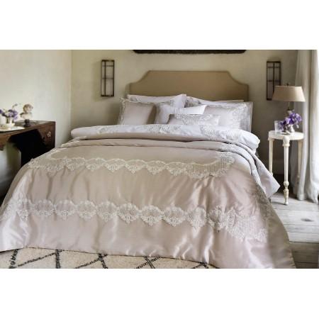 Изысканное покрывало с наволочками и подушками Pepper Home, 270*260 см, Melinda krem