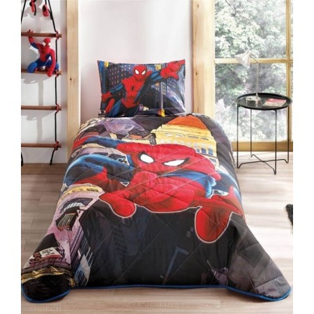 Покрывало PIKE TAC 160*220+50*70 Spiderman In City