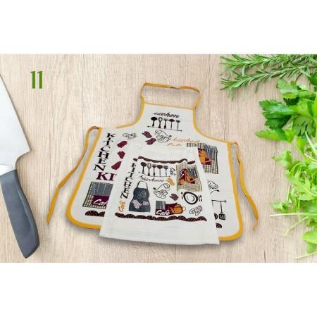 Фартук кухонный Akipek + полотенце, Kitchen
