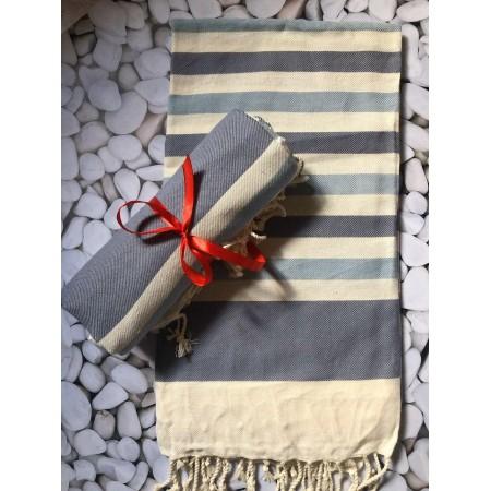 Пляжное полотенце/парео 90*180 см By Ido Sea Wave