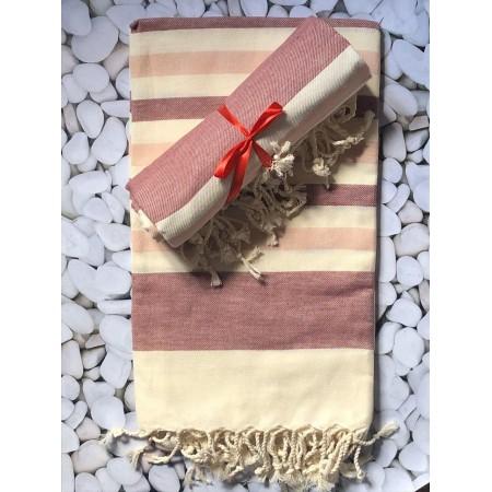 Пляжное полотенце/парео 90*180 см By Ido Red Wave