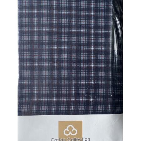 Комплект простынь на резинке с 2 наволочками 50*70 Cotton Collection Narrow Cell
