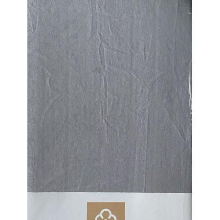 Комплект простынь на резинке с 2 наволочками 50*70 Cotton Collection Grey Sky