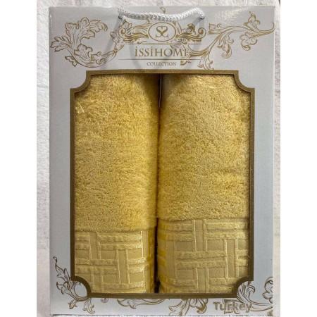 Комплект полотенец Лицевое + Банное Issi Home Yellow