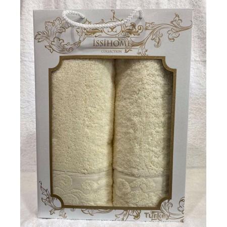 Комплект полотенец Лицевое + Банное Issi Home Bej