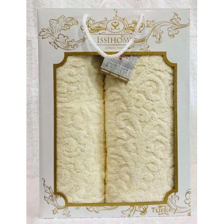 Комплект полотенец Лицевое + Банное Issi Home Lemon pattern