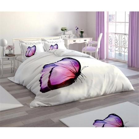 Постельное белье + набор ковриков Le Jardin 3D Mariposa