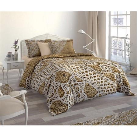 Постельное белье + набор ковриков Le Jardin 3D Dentelle