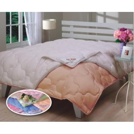 Одеяло антиаллергенное на кнопках Le Vele Double Yorgan Peach 155*215
