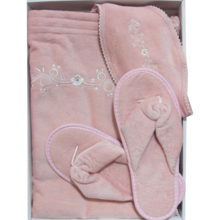 Женский набор в сауну/душ Maison D'or Bella розовый
