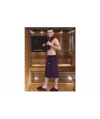 Мужской набор для бани и сауны Maison D'or Sauna Dufour бежевый