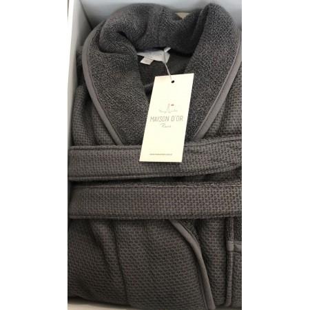 Мужской халат MAISON D'OR QUATTRO (серый)