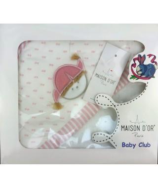 Полотенце-уголок детское Maison D'or Love Baby 76*76