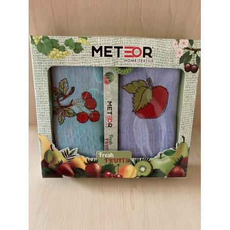 Набор вафельных полотенец Mercan Fruits 45*65 2 шт