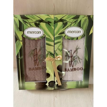 Набор вафельных полотенец Mercan Bamboo 45*65 2 шт