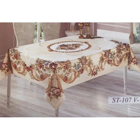 Гобеленовая скатерть Sagol Tekstil 160*220 ST-107