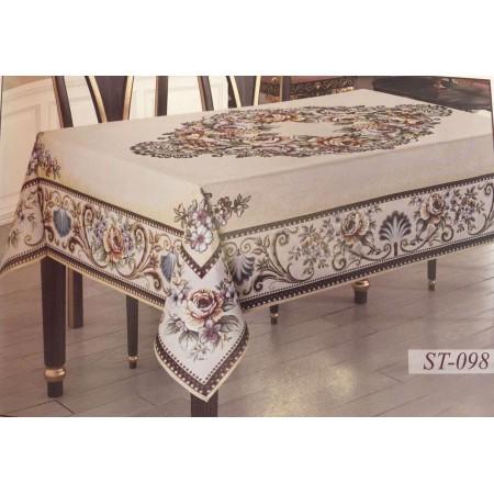 Гобеленовая скатерть Sagol Tekstil 160*220 ST-098