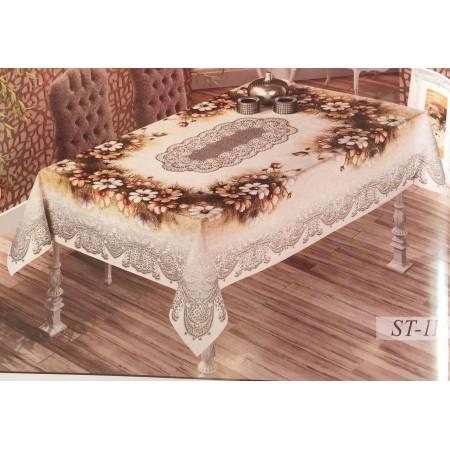 Гобеленовая скатерть Sagol Tekstil 160*220 ST-11