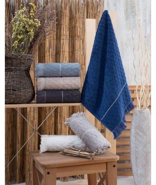 Набор полотенец для сауны Sikel Yakut 6 шт. 100*150
