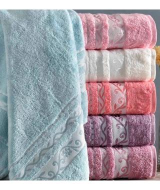 Банные бамбуковые полотенца Lady 70*140